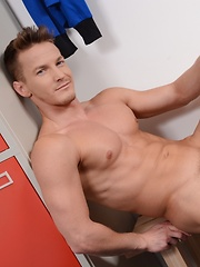 "Brad Fitt Gets Caught Sniffing Jocks & Gets Fucked By A Hot, Horny Stud As ""Punishment""!"